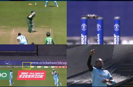 WATCH: विकेट में लगने के बाद भी छक्के के लिए गई जोफ्रा आर्चर की गेंद, फिर हुआ कुछ ऐसा 17