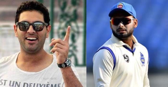 CWC19- युवराज सिंह ने कहा टीम इंडिया की जर्सी में ऋषभ पंत मुझ से भी करेगा बेहतर प्रदर्शन