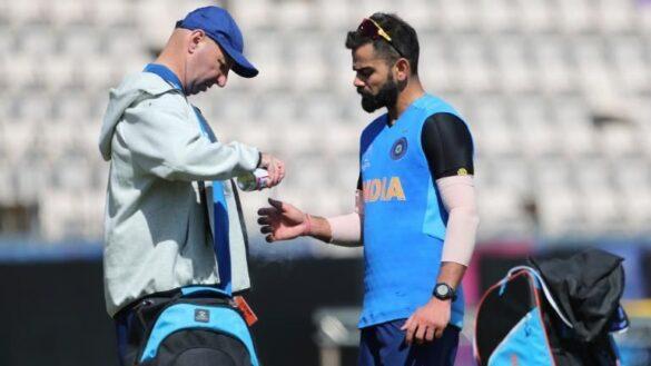 WORLD CUP 2019: चोटिल विराट कोहली पर टीम मैनेजमेंट ने जारी किया बयान, बताया क्या खेल पायेंगे पहला मैच 9