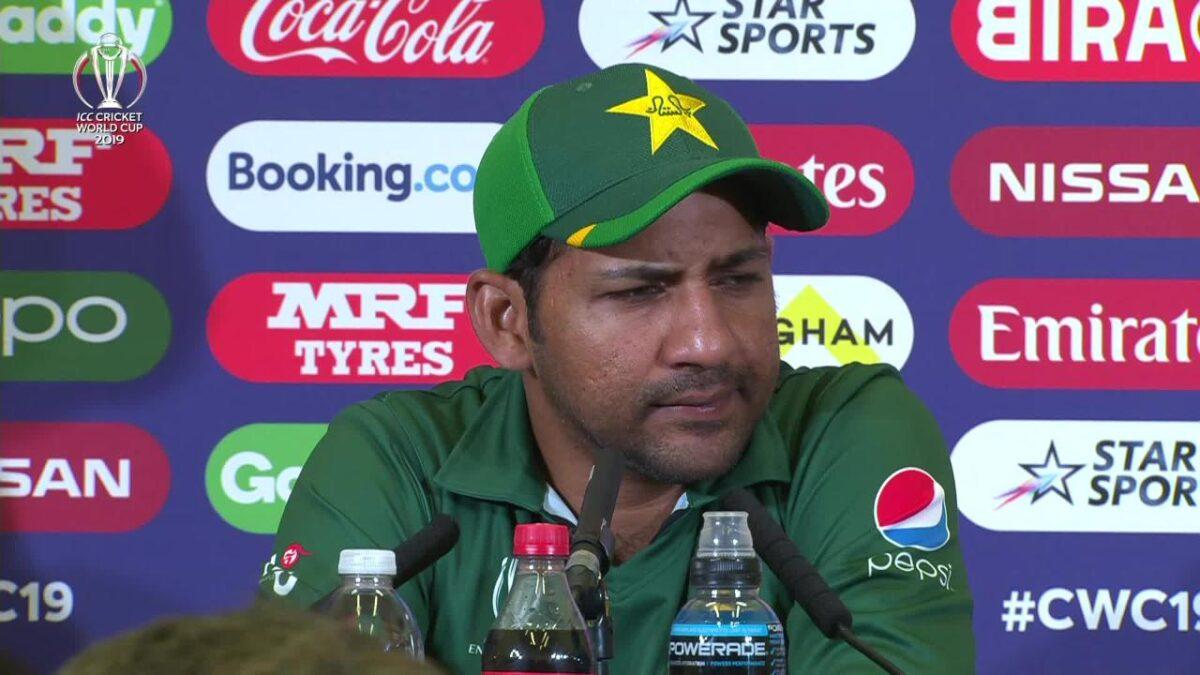 पाकिस्तान कप्तान सरफराज अहमद ने भारत-पाकिस्तान मैच से पहले प्रशंसको से की ये अपील