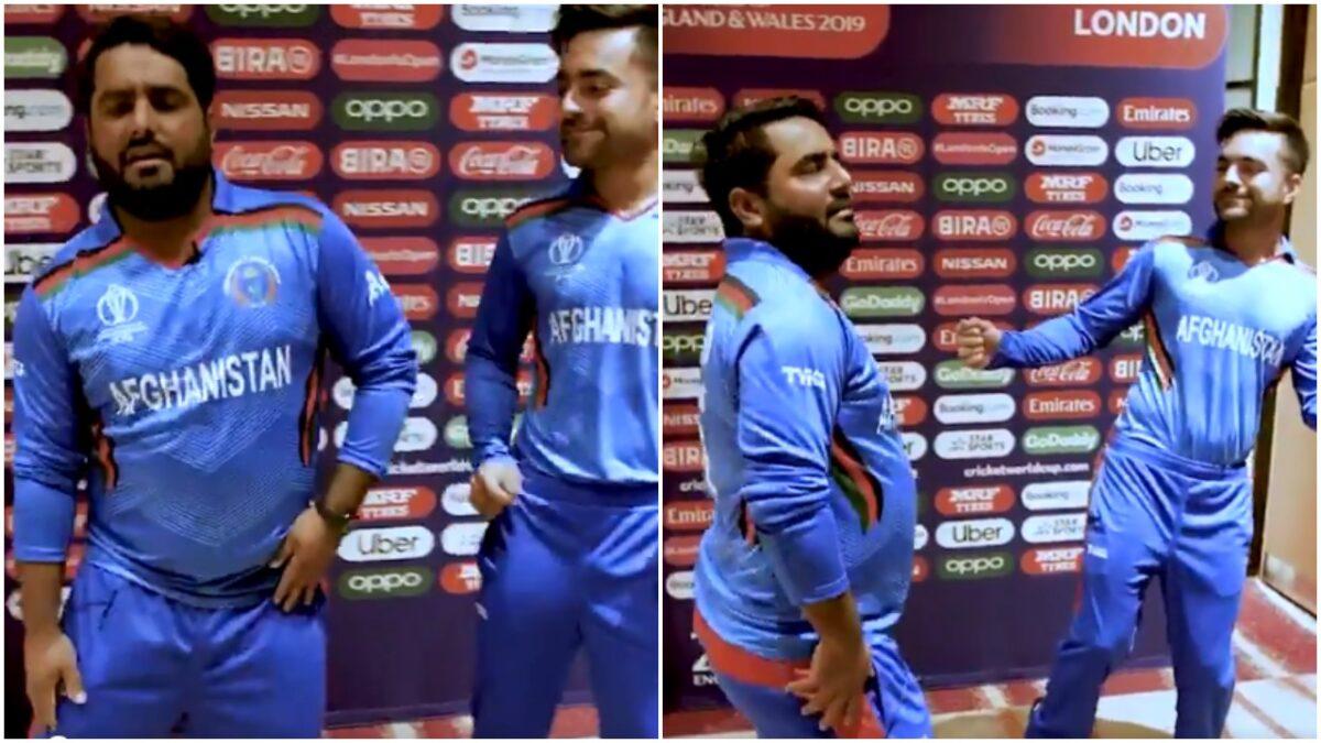WATCH : मोहम्मद शहजाद ने राशिद खान के साथ मिलकर लगाया ठुमका, देखें वीडियो