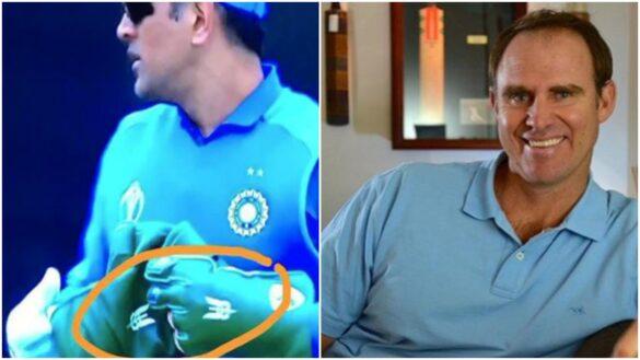महेंद्र सिंह धोनी के ग्लव्स से बलिदान बैज हटाने के बाद आईसीसी पर भड़के मैथ्यू हेडन 42