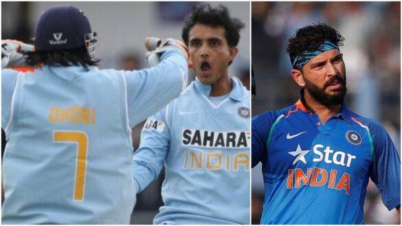 संन्यास के बाद युवराज सिंह ने सौरव गांगुली और महेंद्र सिंह धोनी को बताया महान कप्तान 1
