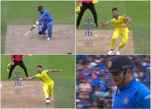 WATCH: अपनी ही गेंदबाजी पर शानदार कैच लेकर मार्कस स्टोइनिस ने महेंद्र सिंह धोनी को भेजा पवेलियन 35