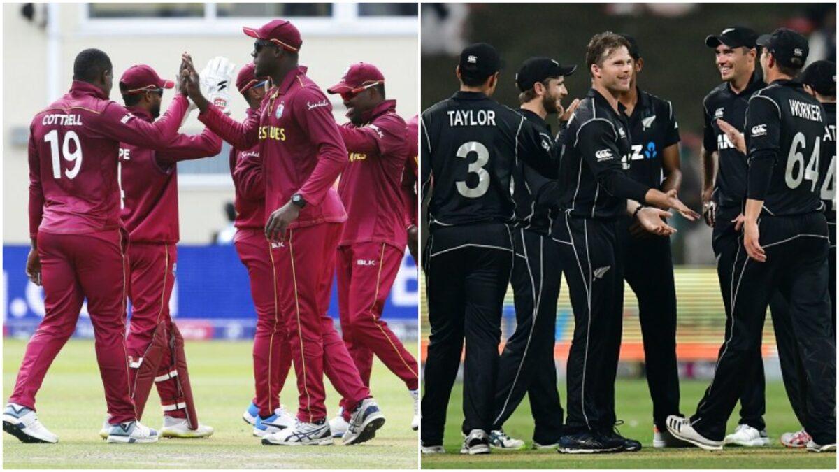 विश्व कप में वेस्टइंडीज और न्यूजीलैंड में होगा मुकाबला, ये हो सकती है दोनों टीमों की प्लेइंग इलेवन