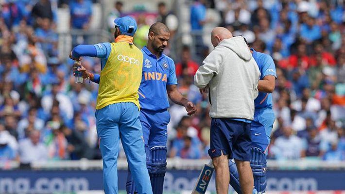 CWC 2019: भारतीय टीम के लिए बड़ा झटका, चोटिल शिखर धवन विश्व कप से बाहर, रिप्लेसमेंट हुआ घोषित