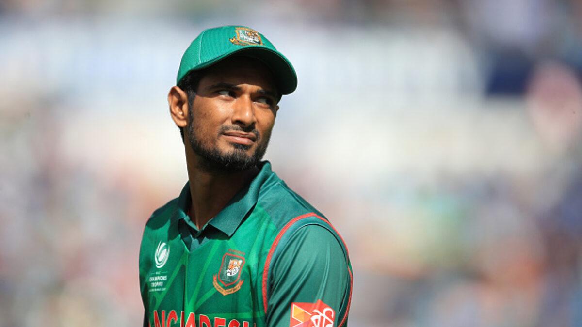 बांग्लादेश की टीम के विश्व कप अभियान को लगा झटका, महमुदुल्लाह हुए चोटिल