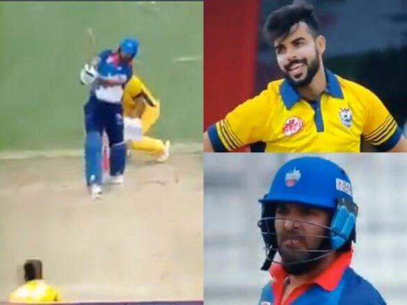 युवराज सिंह ने शादाब खान की गेंद पर लगाया फ्लैट सिक्स, वीडियो हुई वायरल 16