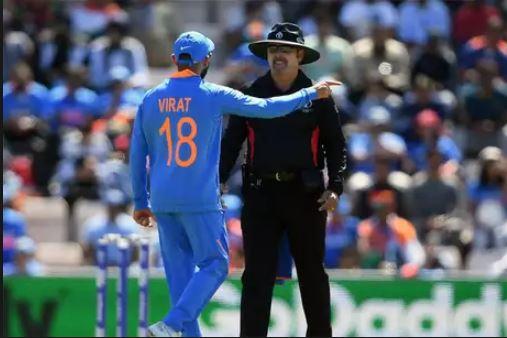 World Cup 2019: फिर अंपायर से मैदान पर भिड़े कप्तान विराट कोहली अब हो सकते हैं वर्ल्ड कप से बाहर 2