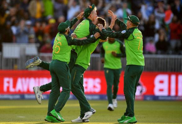 CWC19-  दक्षिण अफ्रीका ने आखिरी लीग मुकाबलें में ऑस्ट्रेलिया को 10 रनों से दी मात, ऐसा रहा पूरे मैच का हाल 39