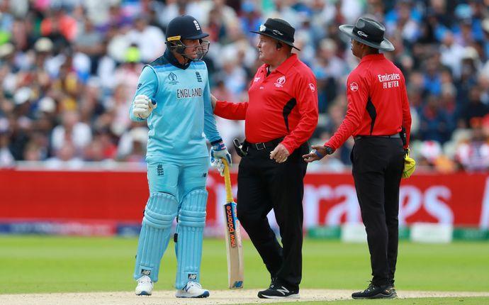CWC19- अंपायर से उलझना जेसन रॉय को पड़ा महंगा, आईसीसी ने सुनाया ये फैसला, क्या होंगे फाइनल का हिस्सा?