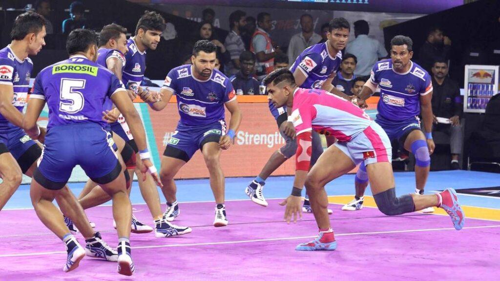 प्रो कबड्डी लीग 2019: जयपुर पिंक पैंथर्स हासिल की लगातार तीसरी जीत, दीपक हूडा फिर चमके 2