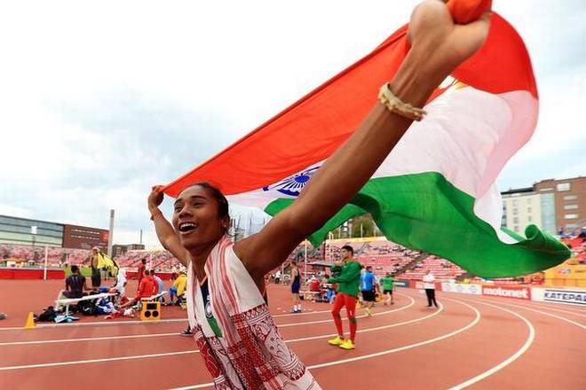 भारत की उड़नपरी हिमा दास ने रचा इतिहास, एक महीने के अंदर जीता पांचवा स्वर्ण 1