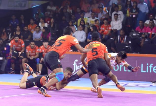 प्रो कबड्डी लीग 2019: अनूप कुमार की पुणेरी पलटन को फिर मिली हार, पहली जीत का इंतजार हुआ लंबा