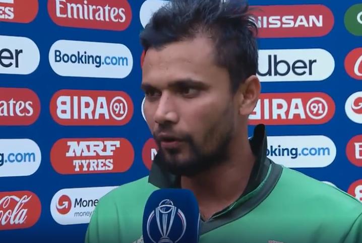 CWC 2019, PAKvsBAN: बांग्लादेशी कप्तान मशरफे मुर्तजा ने संन्यास की अटकलों के बीच बताया अपना फैसला