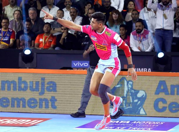 प्रो कबड्डी लीग 2019: जयपुर पिंक पैंथर्स हासिल की लगातार तीसरी जीत, दीपक हूडा फिर चमके 3