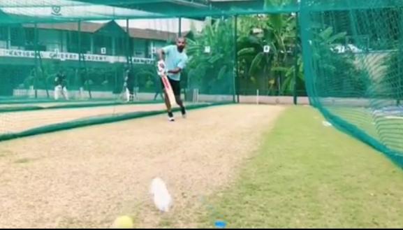 WATCH: शिखर धवन ने चोट के बाद पहली बार थामा बल्ला, विंडीज दौरे में हो सकते हैं शामिल