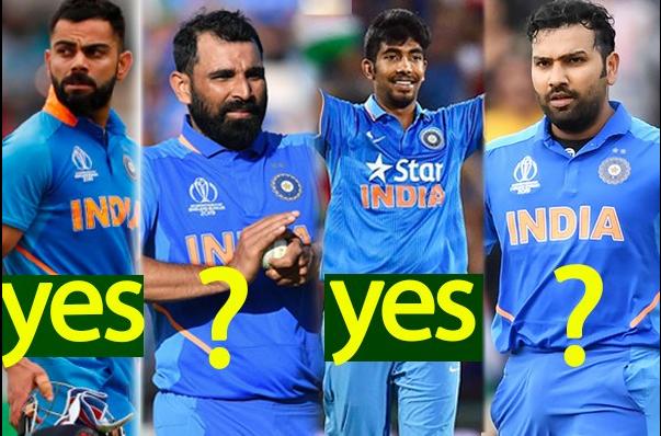 विश्व कप 2019 के यह 10 भारतीय खिलाड़ी जो 2023 विश्व कप में भी आ सकते हैं नजर