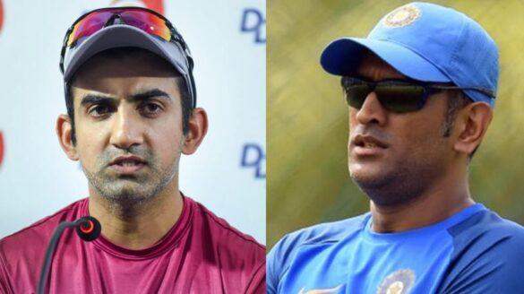 धोनी पर फूटा गौतम गंभीर का गुस्सा, पंत और कार्तिक करते ऐसी बल्लेबाजी तो होते टीम से बाहर 1