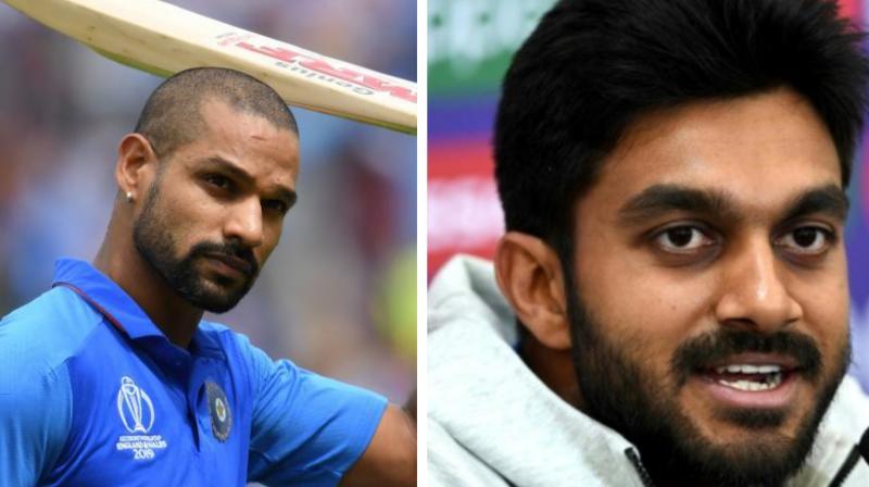 वेस्टइंडीज दौरे से पहले एनसीए पहुंचे शिखर धवन और विजय शंकर, फिटनेश की होंगी जाँच