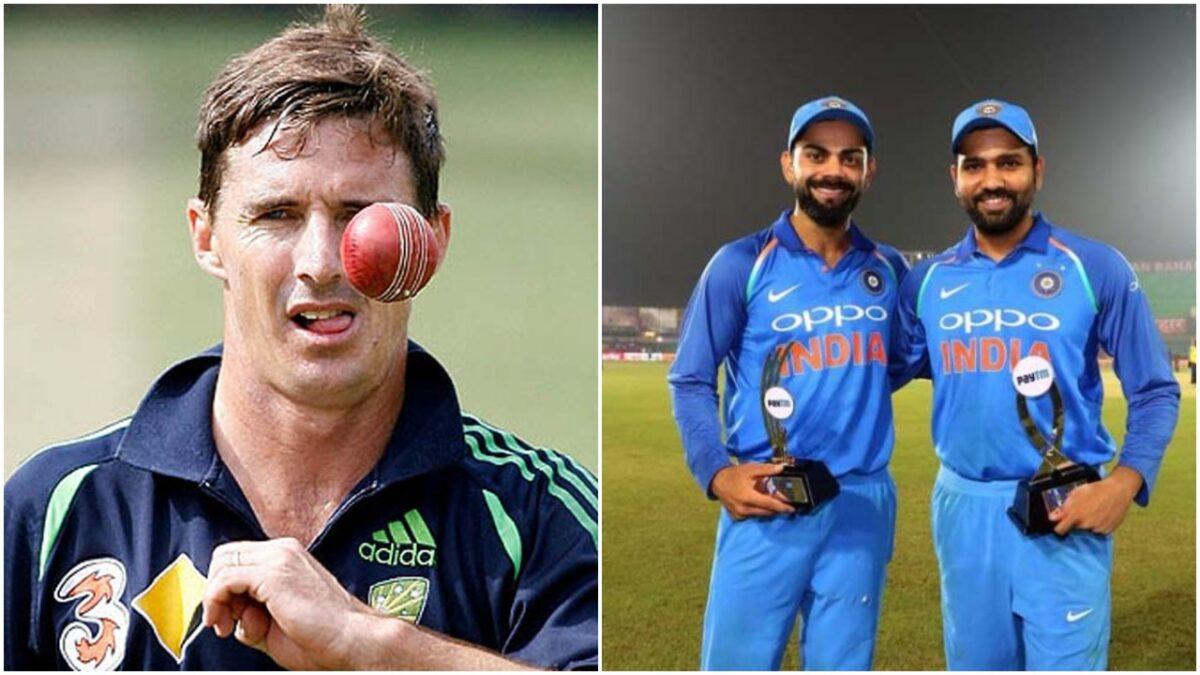 ब्रैड हॉग ने बताया, रोहित शर्मा और विराट कोहली में भारत के लिए कौन बेहतर कप्तान