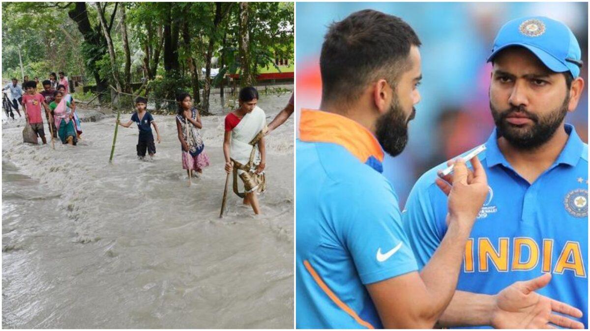 बाढ़ से जूझ रहे भारत के कई राज्य, खिलाड़ियों ने लोगों से की खास अपील