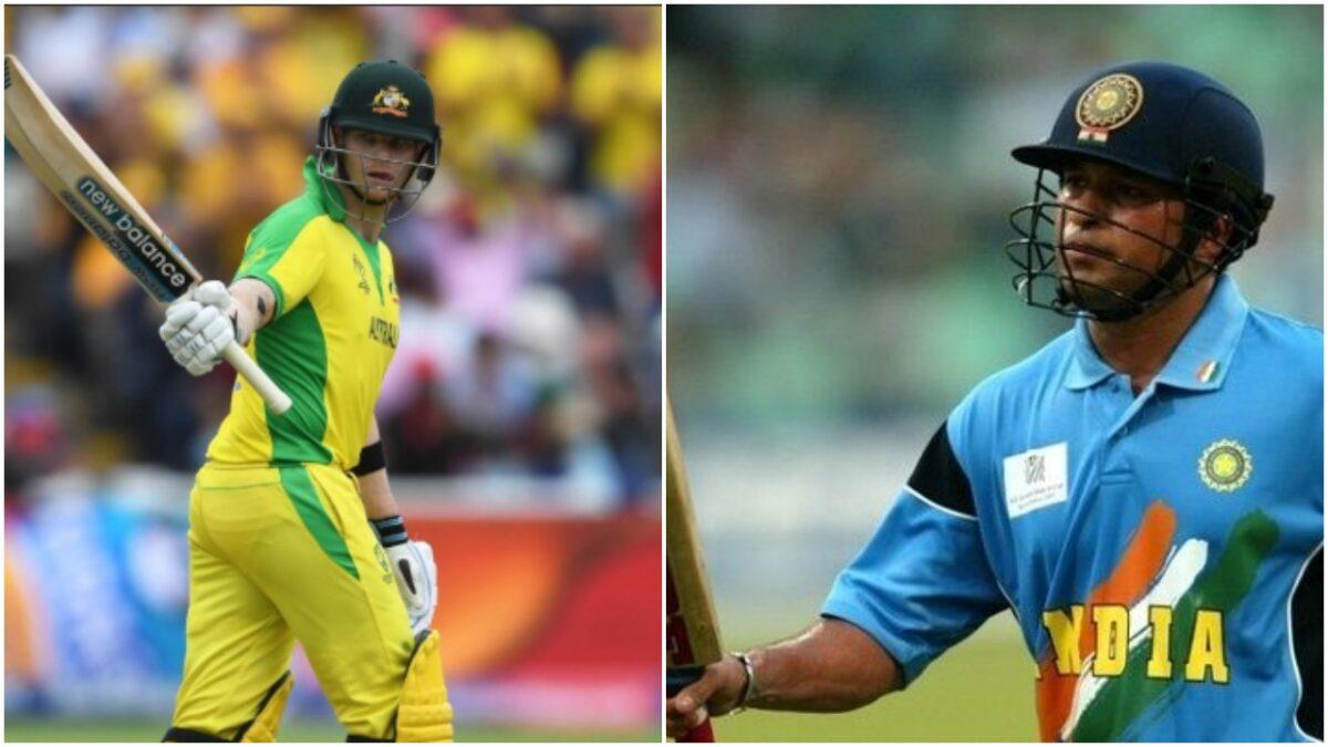 CWC 2019: ऑस्ट्रेलिया की हार के बावजूद स्टीवन स्मिथ ने सचिन तेंदुलकर की बराबरी की