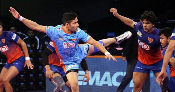 वीवो प्रो कबड्डी सीज़न-7: 46 वें मैच में दबंग दिल्ली और बंगाल वॉरियर्स का स्कोर 30-30 से बराबर, दिल्ली दूसरे और बंगाल तीसरे स्थान पर पहुंची 6