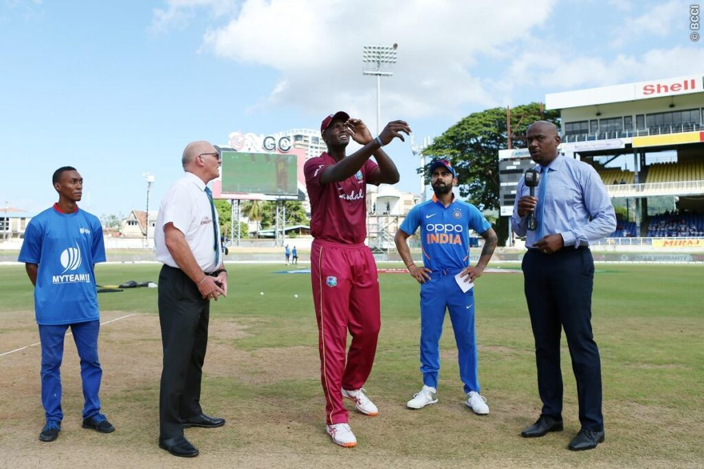 WIvIND, तीसरा वनडे: वेस्टइंडीज ने जीता टॉस, दोनों टीमों में हुआ बदलाव 2