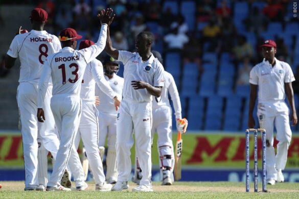 WIvIND, एंटिगा टेस्ट, पहला दिन: वेस्टइंडीज की धारदार गेंदबाजी के सामने जूझते रहे भारतीय बल्लेबाज, देखें स्कोरकार्ड 31