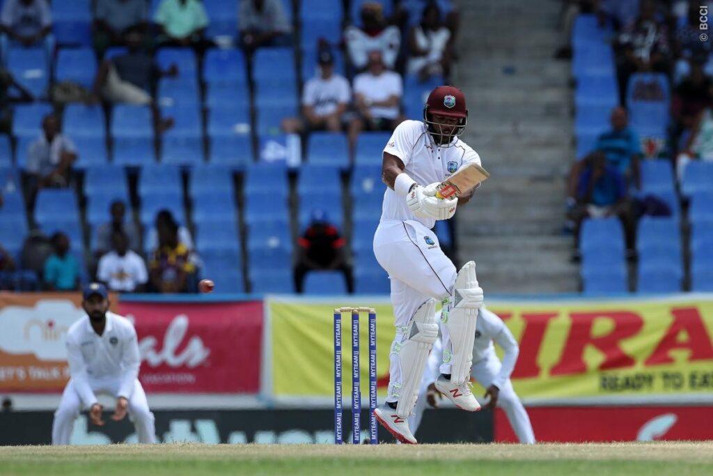 WIvIND, एंटिगा टेस्ट, दूसरा दिन: भारतीय गेंदबाजों ने विंडीज के टॉप ऑर्डर को भेजा पवेलियन, देखें स्कोरकार्ड 2