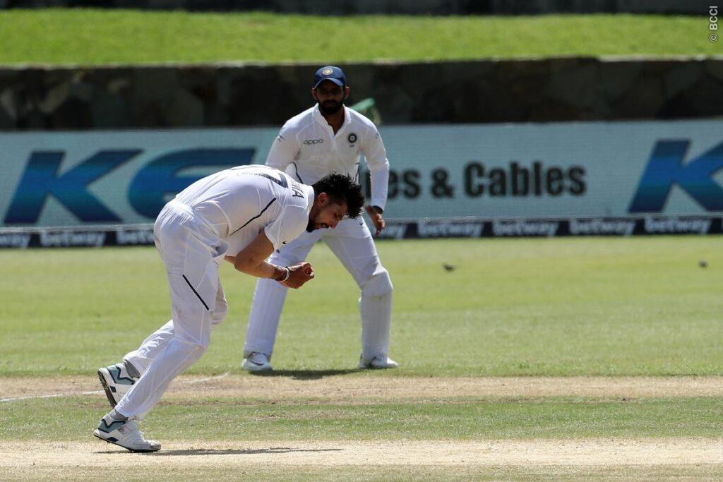 WATCH: इशांत शर्मा ने अपनी ही गेंद लपका ऐसा कैच, बल्लेबाज को भी नहीं हुआ विश्वास 1