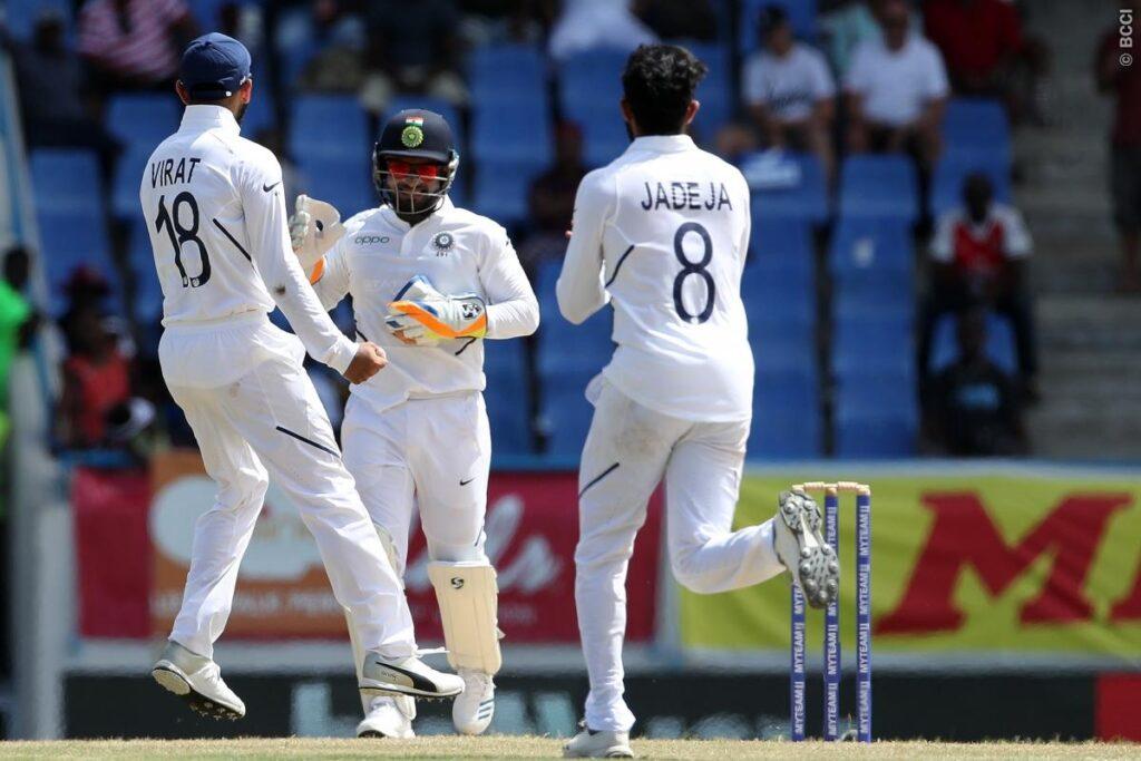 WIvIND, एंटिगा टेस्ट, दूसरा दिन: भारतीय गेंदबाजों ने विंडीज के टॉप ऑर्डर को भेजा पवेलियन, देखें स्कोरकार्ड 3