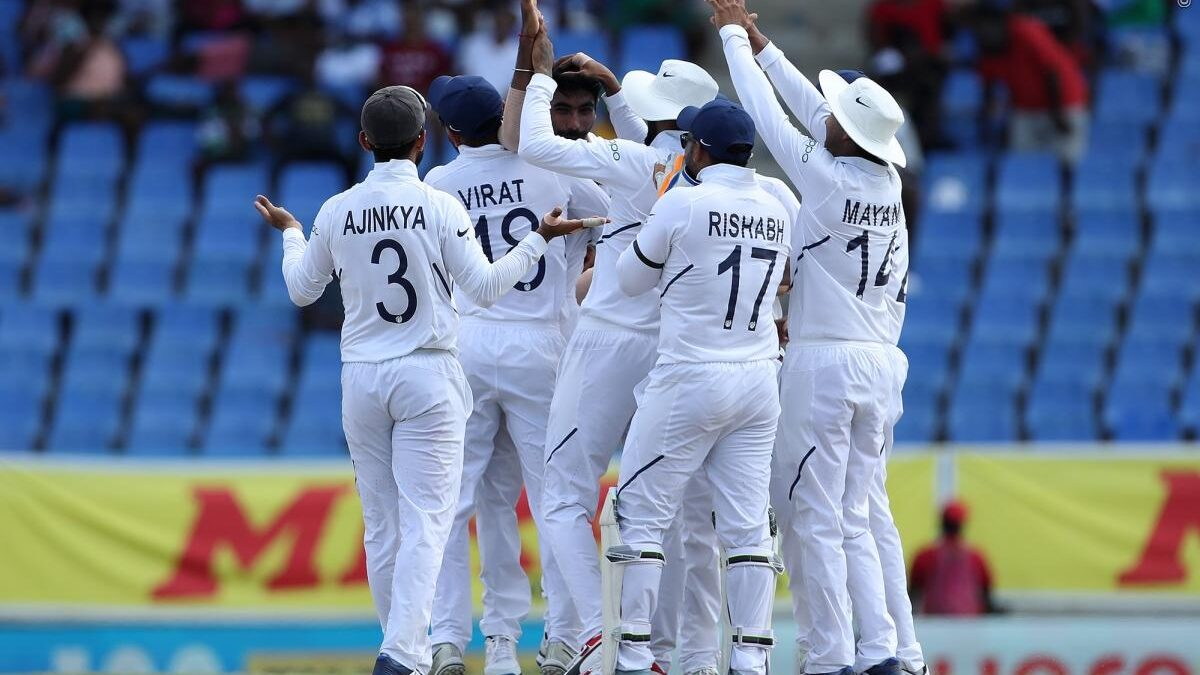 WIvIND, एंटिगा टेस्ट: भारत ने टेस्ट चैंपियनशिप के पहले मुकाबले को 318 रनों से जीता, देखें स्कोरकार्ड