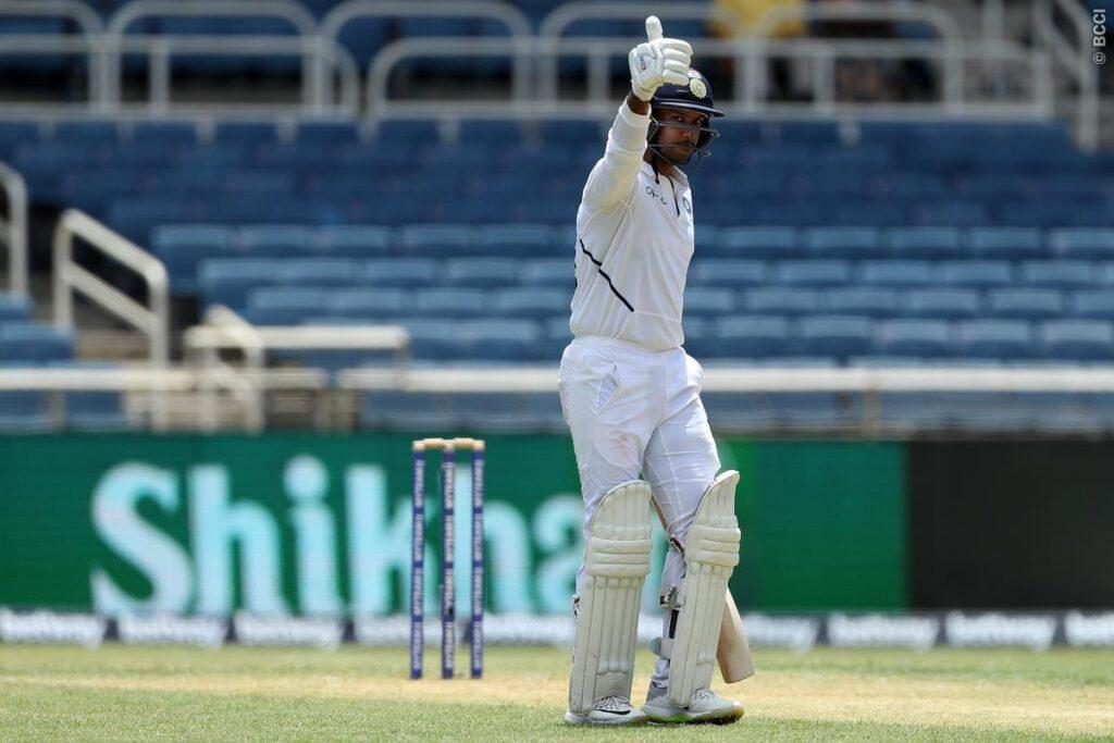 WIvIND, जमैका टेस्ट: विराट- रहाणे ने संभाली भारतीय पारी, पहले दिन चाय टीम का स्कोर 157/3 1