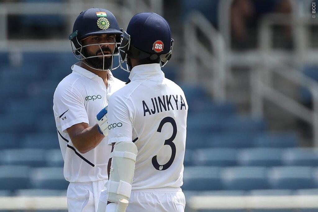 WIvIND, जमैका टेस्ट: विराट- रहाणे ने संभाली भारतीय पारी, पहले दिन चाय टीम का स्कोर 157/3 2