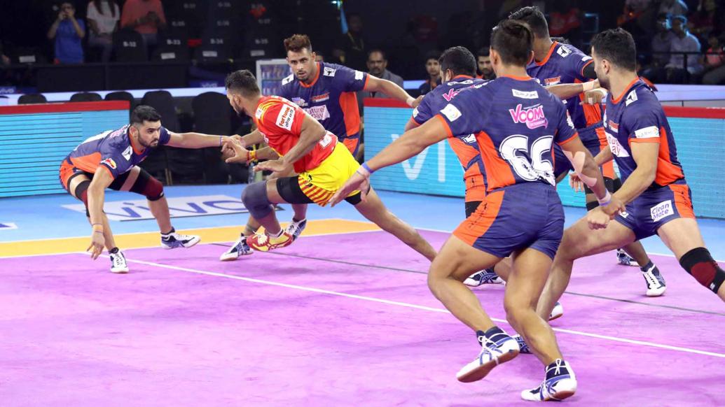 प्रो कबड्डी लीग 2019: गुजरात फॉर्च्यूनजायंट्स को करीबी मुकाबले में मिली लगातार चौथी हार