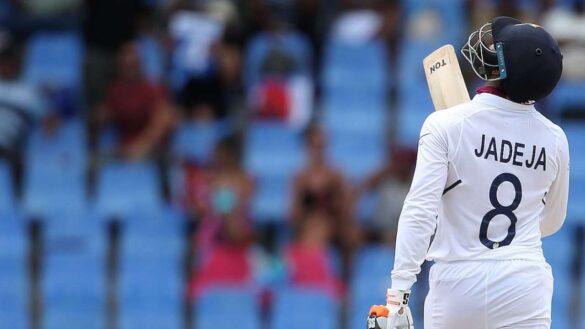 वेस्टइंडीज के खिलाफ शानदार पारी खेलने के बाद रविन्द्र जडेजा ने इन्हें दिया अपनी पारी का श्रेय 13