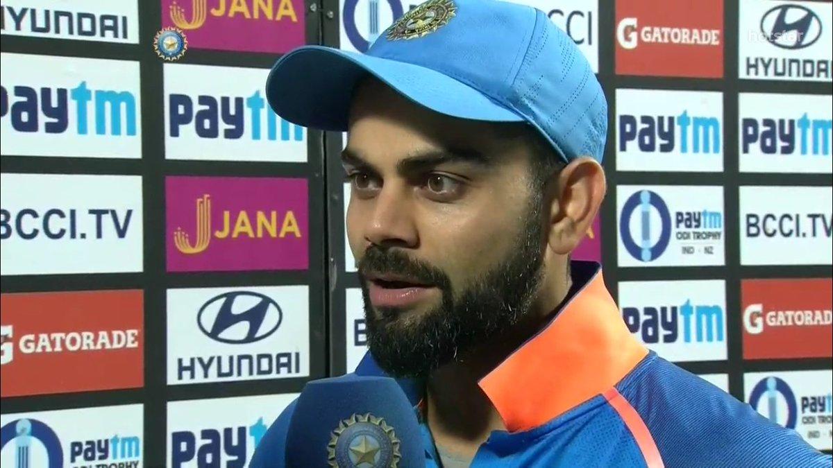 IND VS WI- विराट कोहली ने इस खिलाड़ी को समर्पित किया अपना मैन ऑफ़ द सीरीज, कहा टीम में जगह हुई पक्की