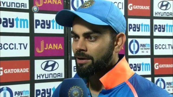 वेस्टइंडीज के खिलाफ दूसरा टी-20 जीतने के बाद कप्तान कोहली ने रोहित या क्रुणाल नहीं इस खिलाड़ी को दिया श्रेय 25