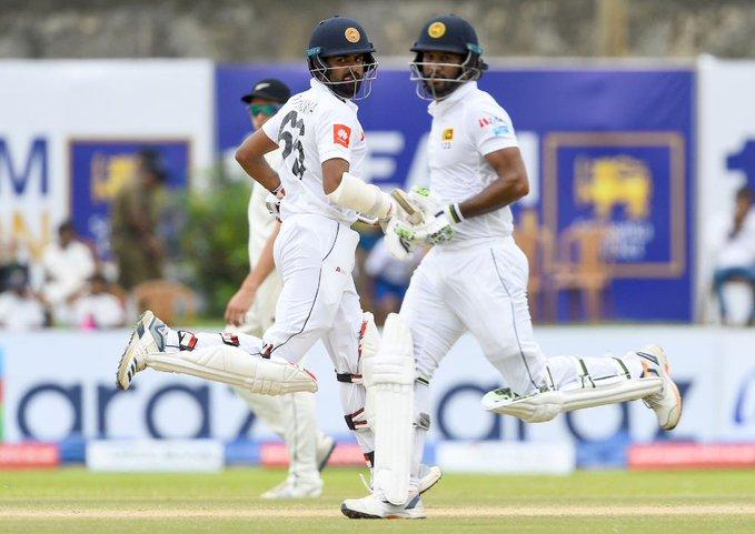 SL vs NZ चौथे दिन श्रीलंका की टीम जीत के तरफ बढ़ी, बिना विकेट गंवाए बना दिया 133 रन