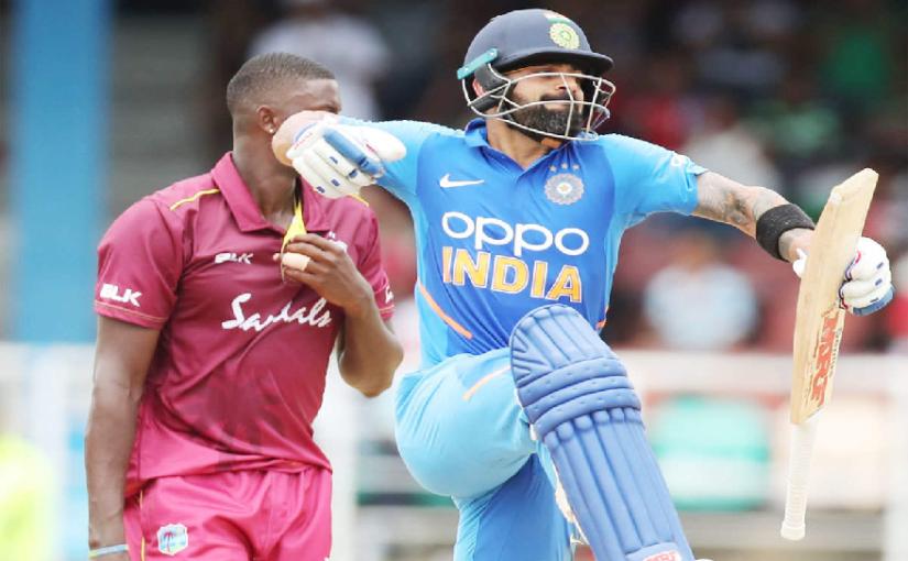 IND VS WI- विराट कोहली ने इस खिलाड़ी को समर्पित किया अपना मैन ऑफ़ द सीरीज, कहा टीम में जगह हुई पक्की 2