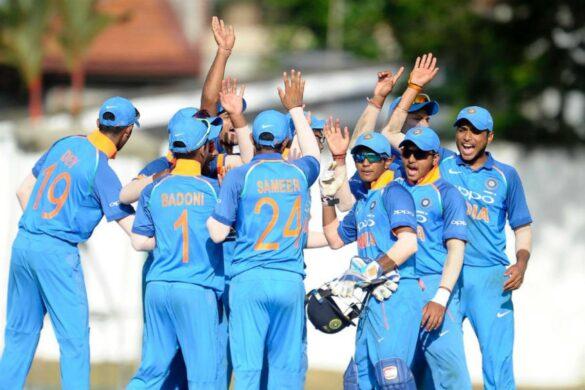 भारत ने बांग्लादेश को हराकर जीता अंडर- 19 त्रिकोणीय श्रृंखला का खिताब 8