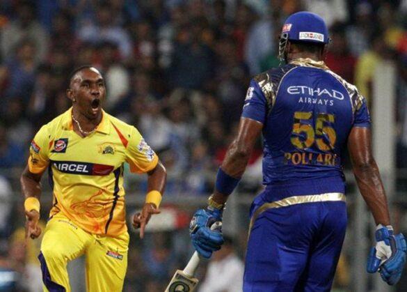 ड्वेन ब्रावो ने किया खुलासा आईपीएल 2010 में मुंबई इंडियंस को किया था पोलार्ड को खरीदने के लिए कन्वेंस 3