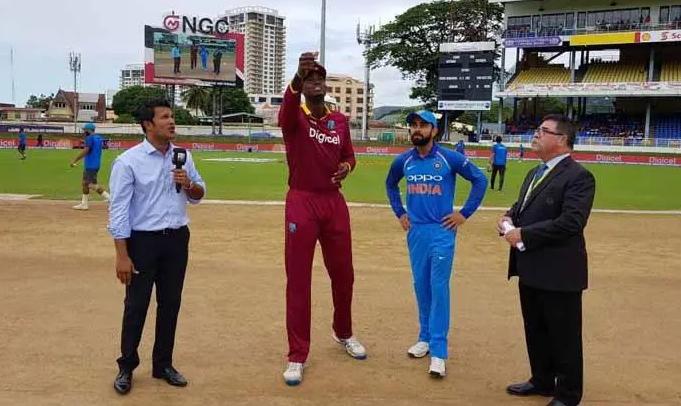 WIvIND, पहला वनडे: भारत ने जीता टॉस, 43-43 ओवरों का होगा मुकाबला 2