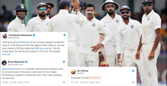 204 रनों नाबाद पारी खेल सोशल मीडिया पर छाये शुभमन गिल, फैंस के निशाने पर एमएसके प्रसाद 21