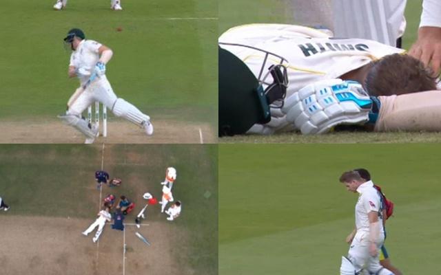 वीडियो: एशेज सीरीज के दूसरे टेस्ट मैच में लॉर्ड्स के मैदान पर बड़ा हादसा, स्टीवन स्मिथ के सिर पर लगी जोफ्रा आर्चर की खतरनाक बाउंसर