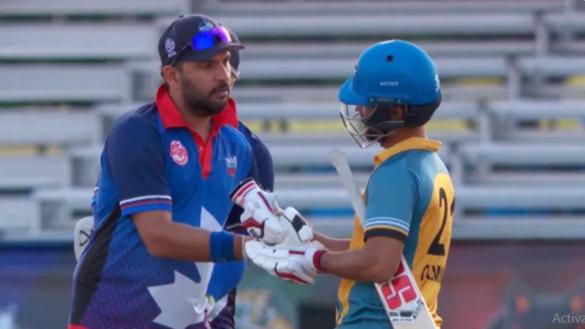 ग्लोबल टी20- युवराज सिंह को लगी दोहरी मार, टीम के बाहर होने के साथ ही फिर हुए चोटिल 30