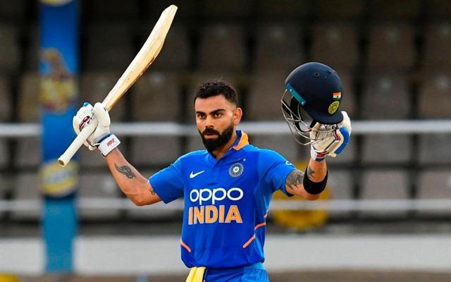 RECORD: विराट कोहली बने बतौर कप्तान सबसे तेज 10,000 रन बनाने वाले खिलाड़ी