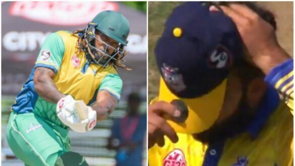 वीडियो- ग्लोबल टी-20 में क्रिस गेल ने इस पाकिस्तानी के एक ओवर में कूटे 32 रन, सोशल मीडिया पर आ रही ऐसी प्रतिक्रिया 13